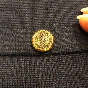 Vintage Sweaters - EUC VINTAGE NAVY CLASSIC LONG CARDIGAN